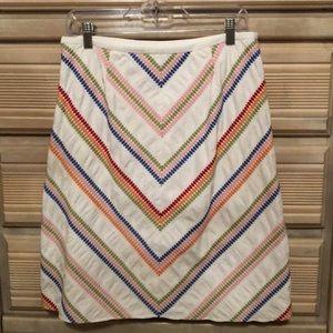 Cute Talbots cotton skirt, size 8